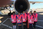 United Airlines nyengkuyung kesempatan karir penerbangan kanggo wanita ing Wanita ing Dina Penerbangan