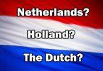 Nederland wil ophou om 'Holland' te wees