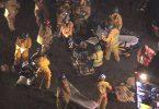 हंटिंगटन बीच में विस्फोट चट्टानों Oktoberfest समारोह, कई चोटों की सूचना दी