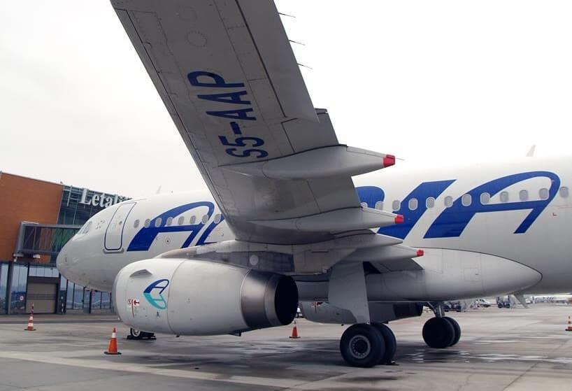 Fayit Adria Airways kite Star Alliance