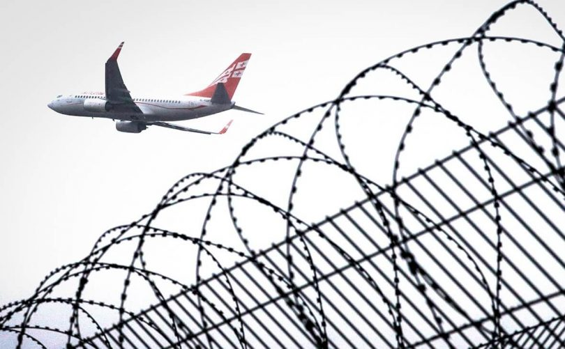 جارجیائی ایئر ویز روس پر $ 25 ملین کا دعوی کر رہی ہے