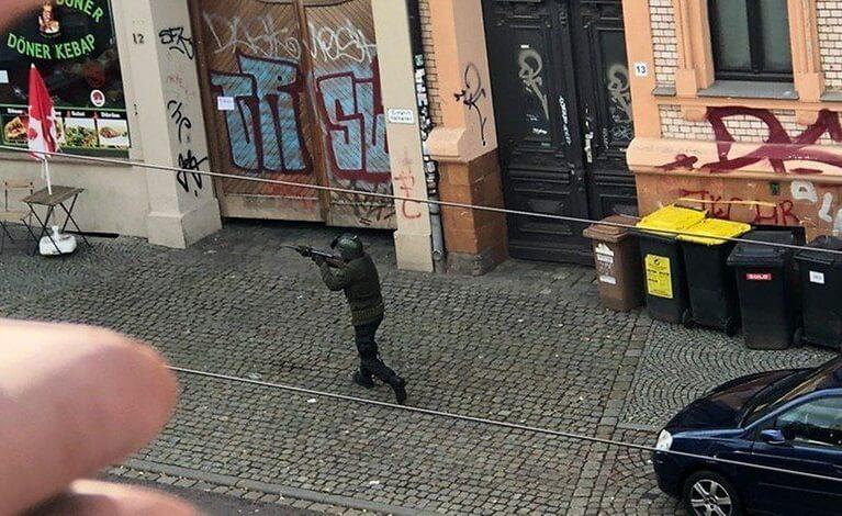 Pelo menos 2 mortos em ataque à sinagoga alemã