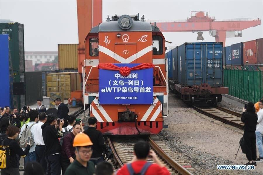 Čína zahajuje novou evropskou trasu vlaků do Belgie