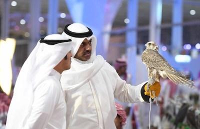 Έκθεση πρώτης ημέρας Σαουδάραβων Γερακιών και Κυνηγιού: Πάνω από 70,000 επισκέπτες