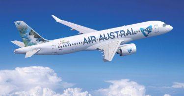Air Austral, con sede en Reunión, se convierte en el primer cliente de A220 en el Océano Índico