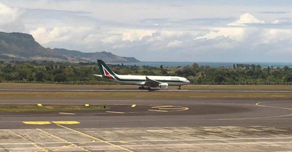 Omarjee Aviation miaraka amin'i Alitalia any Maurice