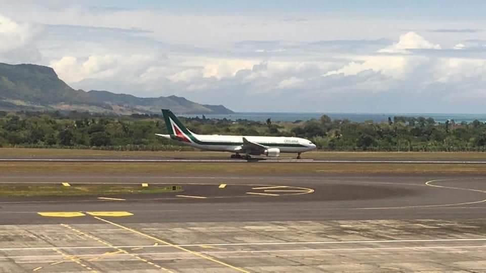 Omarjee Aviation με την Alitalia στον Μαυρίκιο