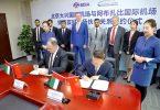 Die Flughäfen der Vereinigten Arabischen Emirate und Chinas arbeiten zusammen