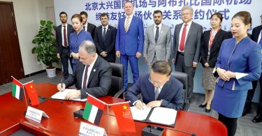 UAE and China capital airports working together