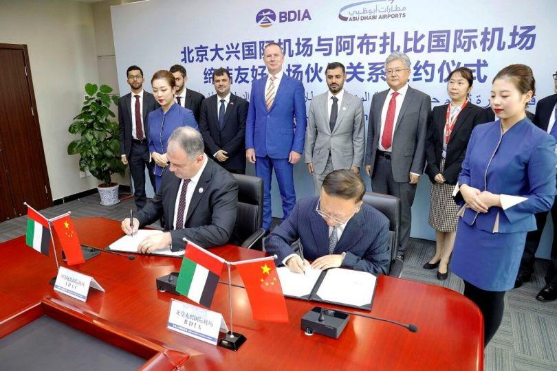 Les aéroports des capitales des Émirats arabes unis et de la Chine travaillent ensemble