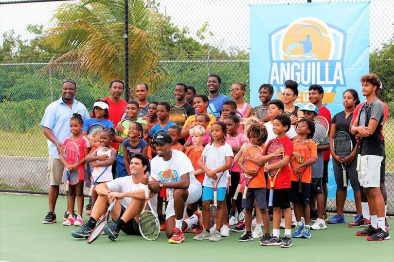 Natao ho an'ny amboara Anguilla 2019 ny sehatra iraisam-pirenena