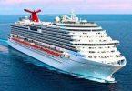 Carnival საკრუიზო გემი ტეხასის სანაპიროდან: გადახტა მგზავრი ან დაეცა?