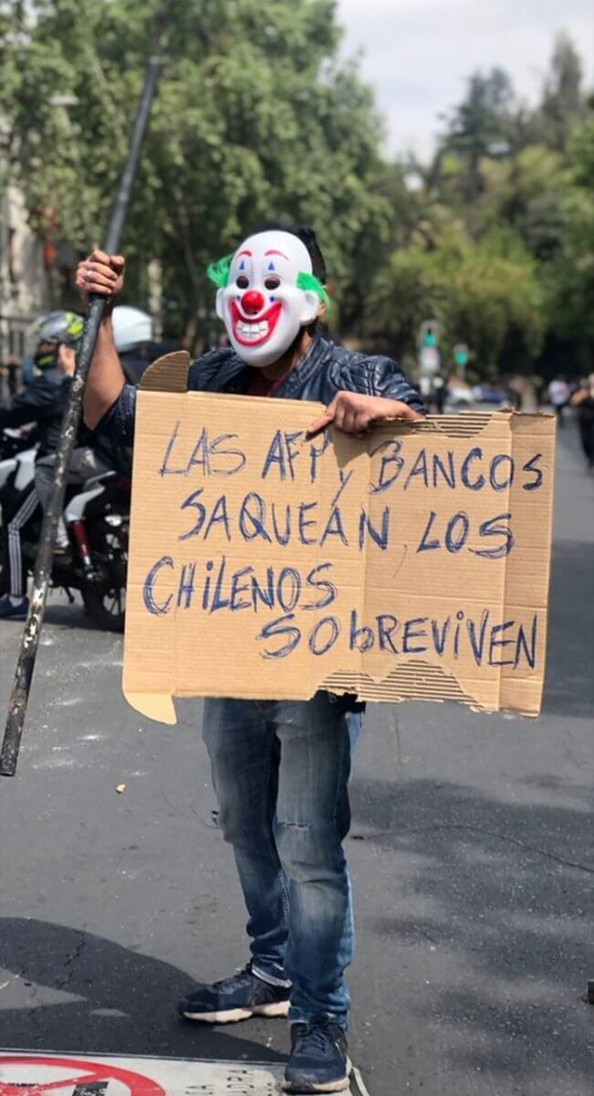 Problemer i Chile