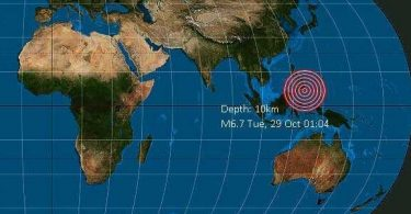 Kæmpe 6.6 jordskælv klipper Mindanao, Filippinerne