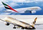 Emirates sa Etihad? Etihad Airways tsara indrindra araka ny governemanta amerikana