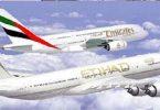 Obnovljeno spajanje zrakoplovnih kompanija Etihad Airways i Emirates?