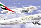 Etihad Airways a Emirates letecká fúze obnovena?
