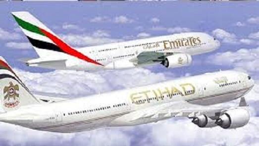 Etihad Airways og Emirates fusion af flyselskaber genoplivet?