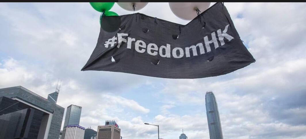 Turismo de protesto em Hong Kong?