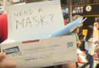 Hongkong kein Maskengesetz ruft neue Proteste hervor