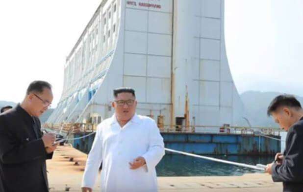 Kim Čong-un velí zničit jihokorejské letovisko