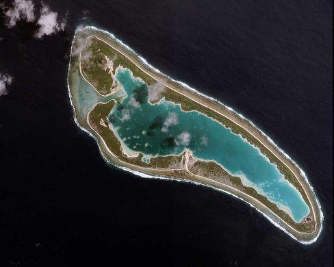 Mety hisy fizahantany Kiribati vaovao ao