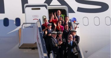 Qantas Airways: Om bord i næsten en dag