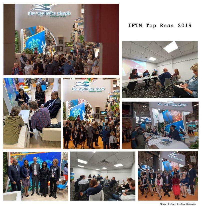 IFTM टॉप रेस 3 में पर्यटन मंत्री के नेतृत्व में सेशेल्स के प्रतिनिधिमंडल के लिए 2019 दिन