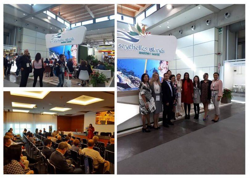 Сейшелските острови улавят италианския туристически пазар в TTG Travel Experience