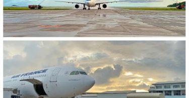 Սեյշելները ողջունում են Air France- ին