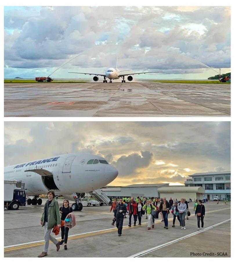 Seychellerne byder Air France tilbage