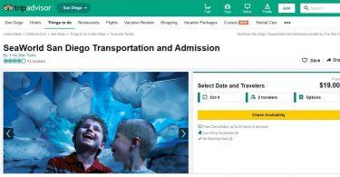 TripAdvisor بلیط های SeaWorld را نمی فروشد اما آن را در وب سایت نگه می دارد