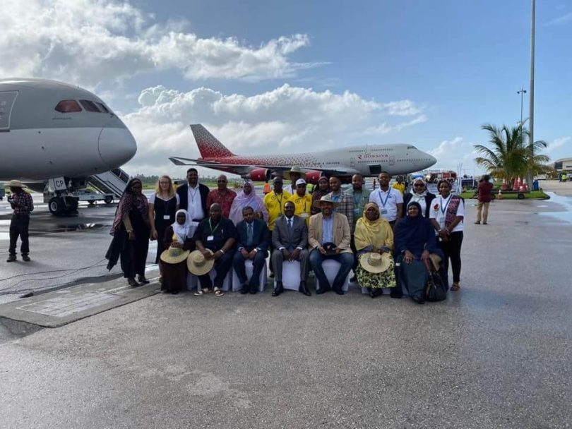 Zanzibar welcomes over 500 Russian tourists on inaugural commercial B747 flight