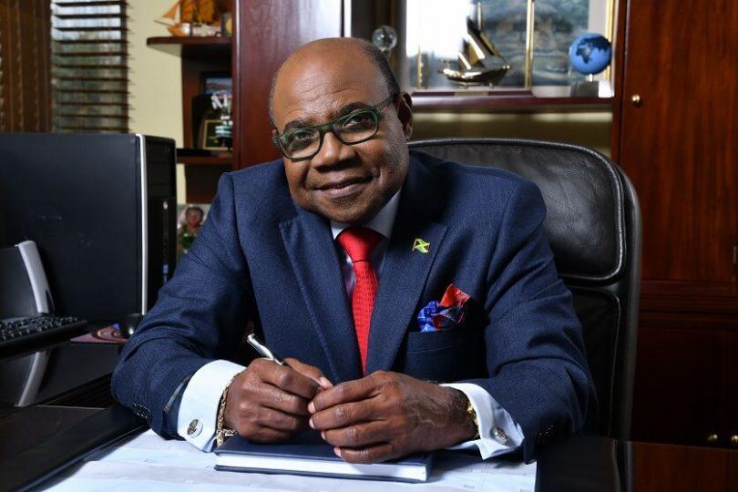 Jamajský ministr cestovního ruchu, Hon. Edmund Bartlett