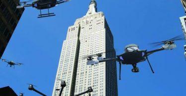 FAA tshaj tawm New York City Marathon qhov Tsis muaj Drone Thaj Chaw