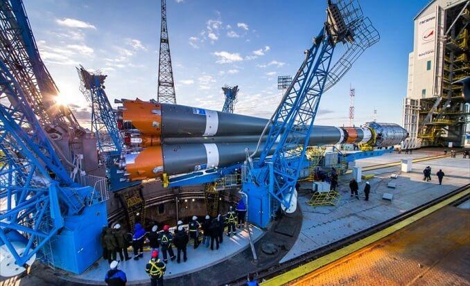 169 millioner dollars stjålet under Ruslands første civile rumhavne-konstruktion