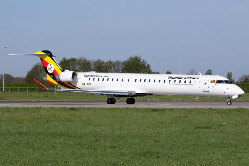 Společnost Uganda Airlines poskytuje lety do města Mombasa pro turistiku goril a regionální obchod
