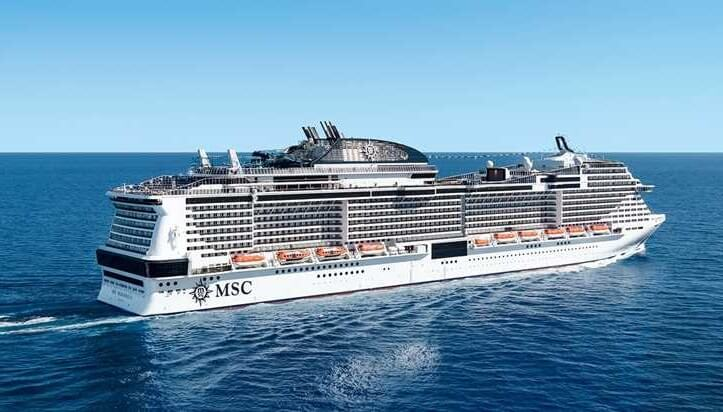 World's 7th largest cruise ship makes golden voyage to Belize