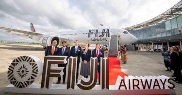 Fiji Airways- ը առաքում է իր երկու Airbus A350 XWB- ներից առաջինը