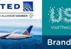 مارك آمريكا و شركت هواپيمايي شركت متحده (United Airlines) براي ارتقا travel سفرهاي آمريكا با هم قرارداد بستند