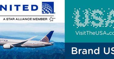ԱՄՆ ապրանքանիշը և Միացյալ ավիաուղիները գործարք են կնքում ՝ Միացյալ Նահանգների համատեղ ճանապարհորդությունը խթանելու համար