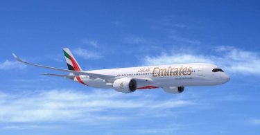 Emirates Airline bestellt auf der Dubai Airshow 50 350 Airbus A2019XWB-Jets