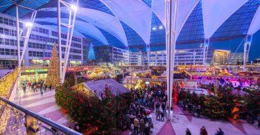 München lufthavn åbner sit årlige jul- og vintermarked