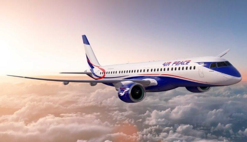 Air Peace objedná 3 další trysky Embraer E195-E2 na Dubajské letecké show