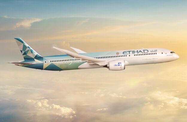Etihad Airways og Boeing afslører 'Etihad Greenliner'