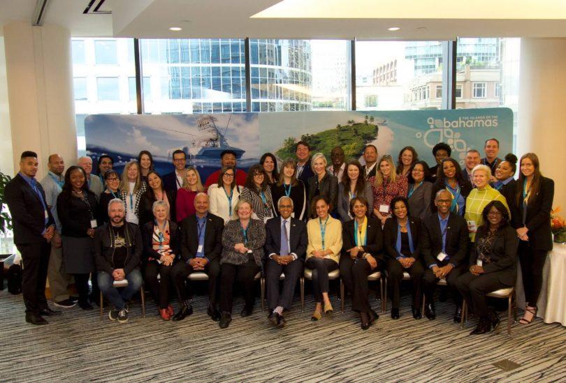تنضم وزارة السياحة والطيران في جزر البهاما إلى وفد من كبار الشخصيات من منظمي الرحلات والفنادق في أكبر حملة إعلامية في تاريخ BTO Canada