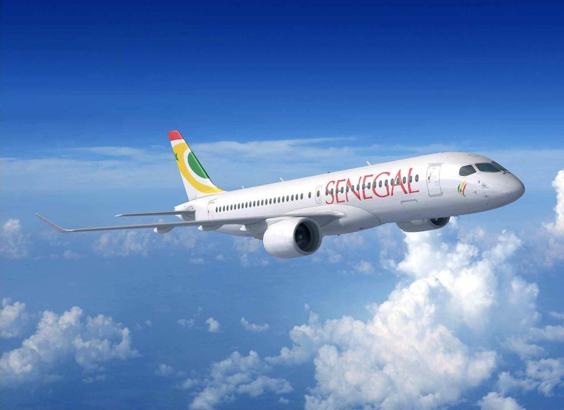 Palakihin ng Air Senegal ang fleet nito na may walong Airbus A220s