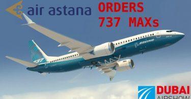 ایر آستانه قصد خرید 30 فروند هواپیمای بوئینگ 737 MAX را اعلام کرد