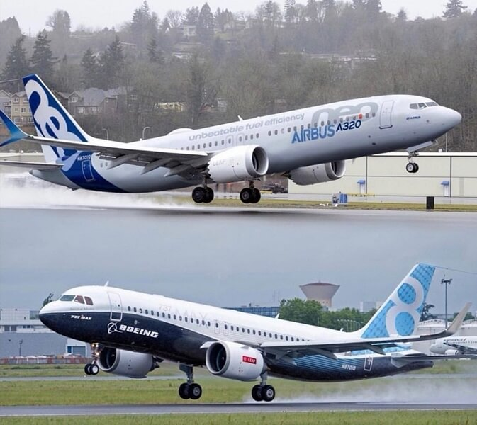 Airbus A320 destrona Boeing 737 como jato mais vendido do mundo