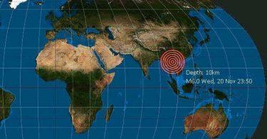 Laos zasáhlo silné zemětřesení, varování před vlnou tsunami nebylo vydáno